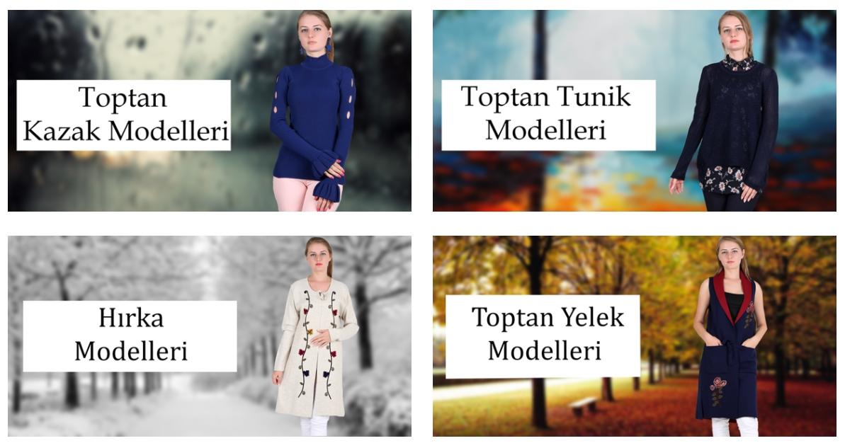 Topptan Bayan Giyim Modelleri